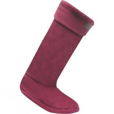 Womens Fleece Welly Sock