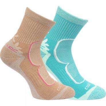 Womens Active Lifestyle Sock (Pack of 2)