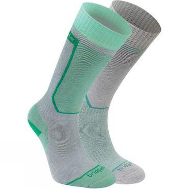 Womens Twin Pack Ski Sock