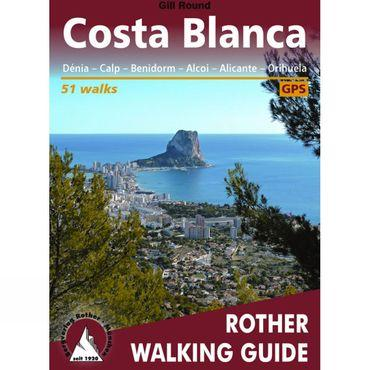 Costa Blanca: Rother Walking Guide