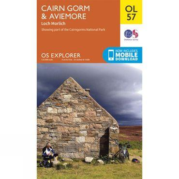 Explorer Map OL57 Cairn Gorm and Aviemore