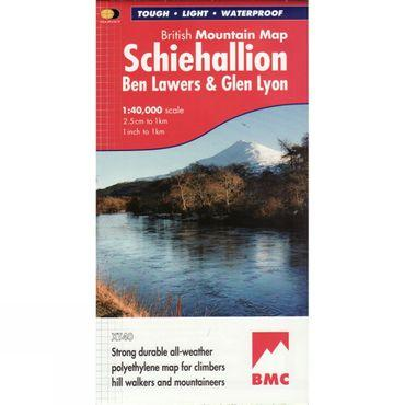 Schiehallion British Mountain Map 1:40K