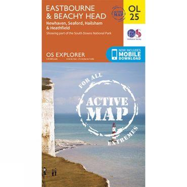 Active Explorer Map OL25 Eastbourne and Beachy Head