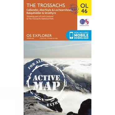 Active Explorer Map OL46 The Trossachs