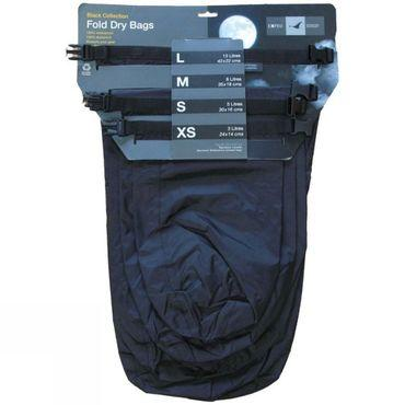 Exped Fold-Drybags Black 4 Pack