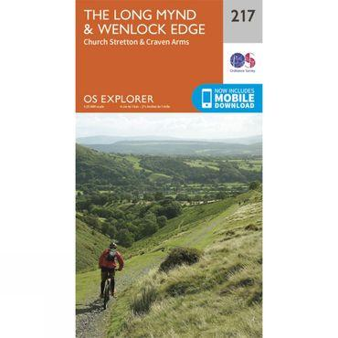 Explorer Map 217 The Long Mynd and Wenlock Edge