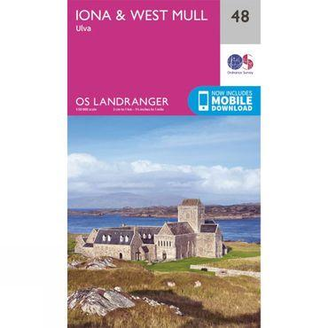 Landranger Map 48 Iona and West Mull