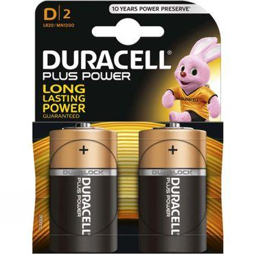 Plus Power D Battery x 2
