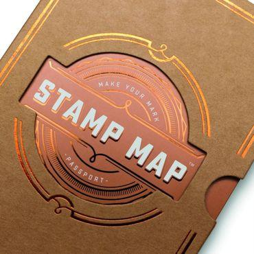 Stamp Map Passport