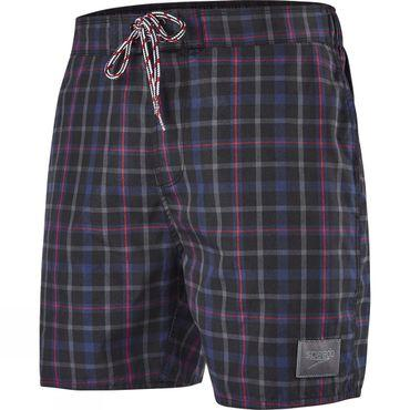 Mens Check Leisure 16in Watershort