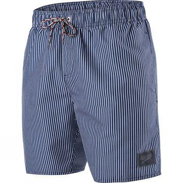 Mens Stripe Printed Leisure 16in Watershort