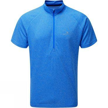 Mens Everyday Short Sleeve 1/2 Zip Tee