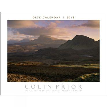 Scotland Panoramic Desk Calendar 2018
