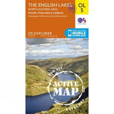 Active Explorer Map OL5 The Lake District - North-Eastern Area