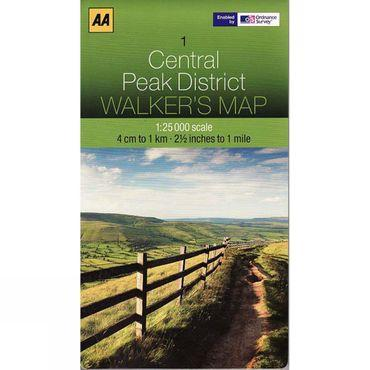 Central Peak District Map 01