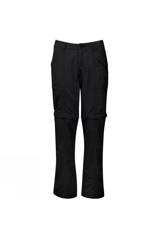 Royal Robbins Womens Backcountry Zip N Go Trousers Jet Black