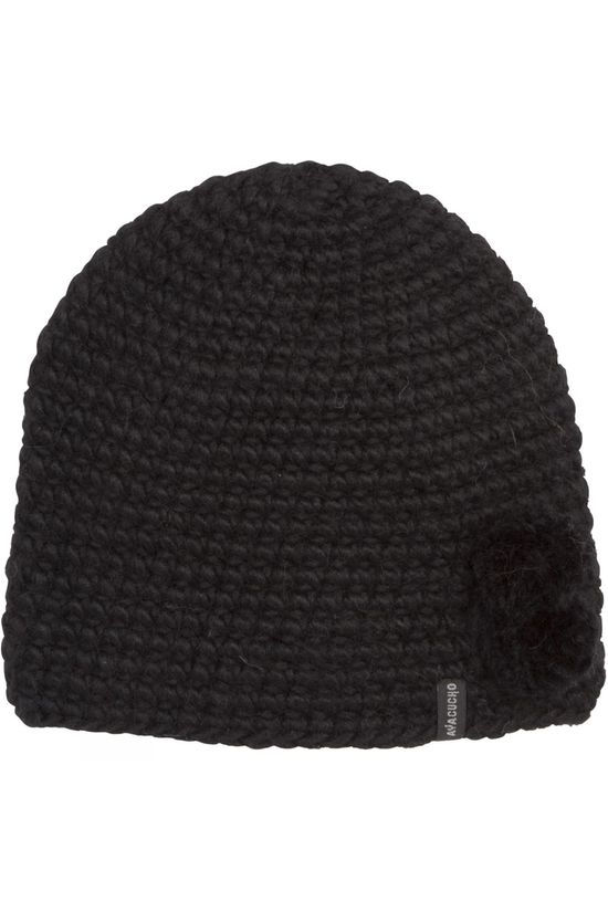 Ayacucho Womens French Beanie Black
