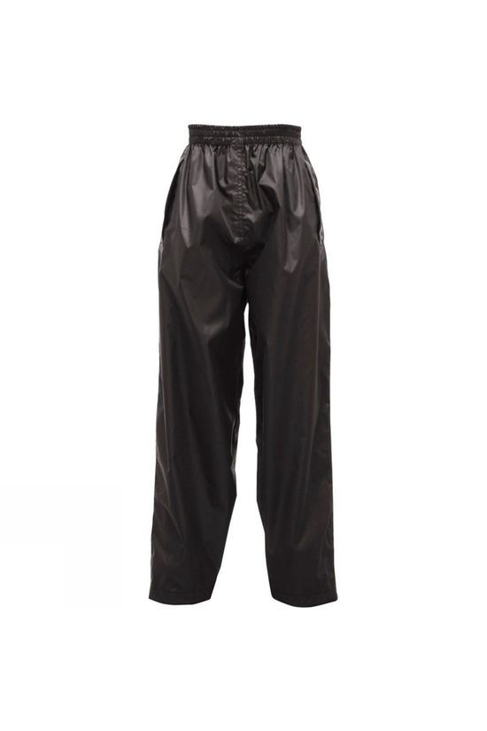 Regatta Kids Pack-It Overtrousers  Black