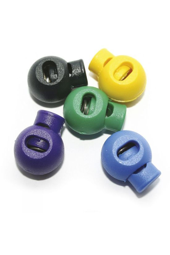 Lowe Alpine Coloured Cord Locks (Pack of 5) Assorted Colours