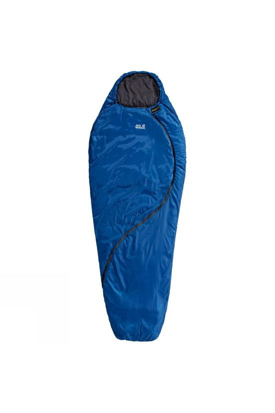 Jack Wolfskin Smoozip +3 Sleeping Bag Classic Blue