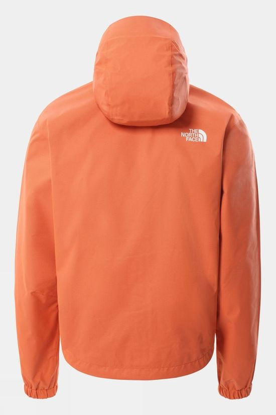 The North Face Mens Quest Jacket Flame Black Heather