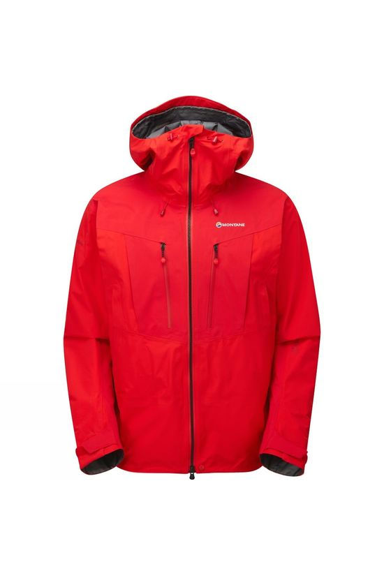Montane Mens Endurance Pro Jacket Alpine Red/Black