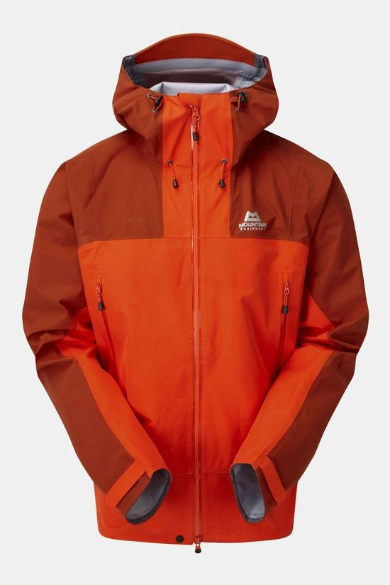 Mountain Equipment Mens Rupal Jacket Magma/Bracken
