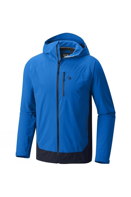 Mountain Hardwear Mens Stretch Ozonic Jacket Altitude Blue