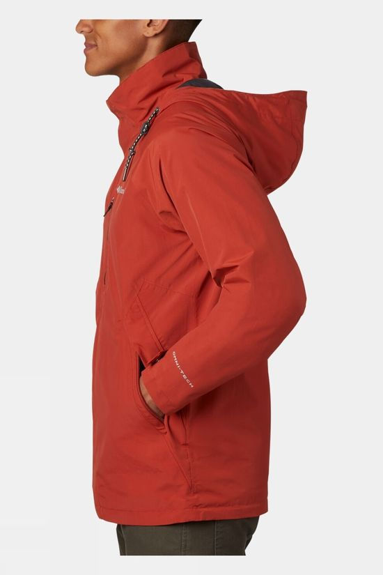Columbia Mens Good Ways II Jacket Carnelian Red