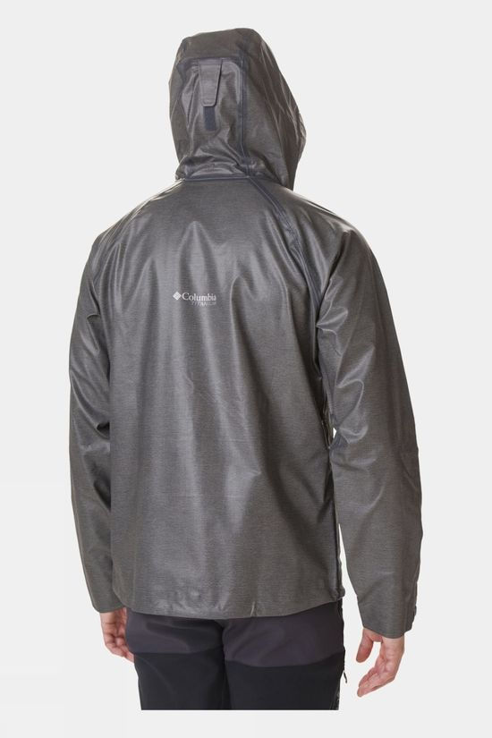 Columbia Mens OutDry Ex Reign Jacket Charcoal Heather