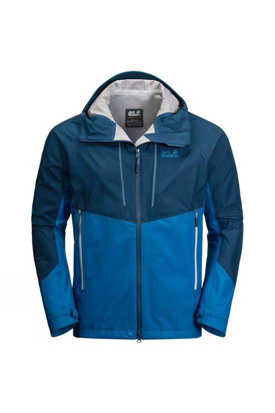 Jack Wolfskin Mens Kanuka Ridge Jacket Electric Blue