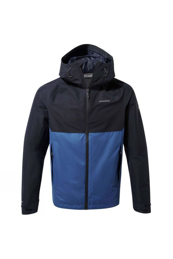 Craghoppers Mens Caleb GoreTex Jacket Dark Navy / Deep Blue