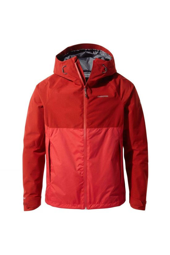Craghoppers Mens Caleb GoreTex Jacket Firth Red