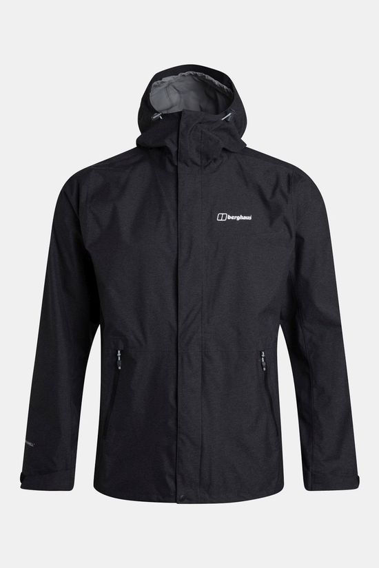 Berghaus Mens Alluvion Shell Jacket Black/Black