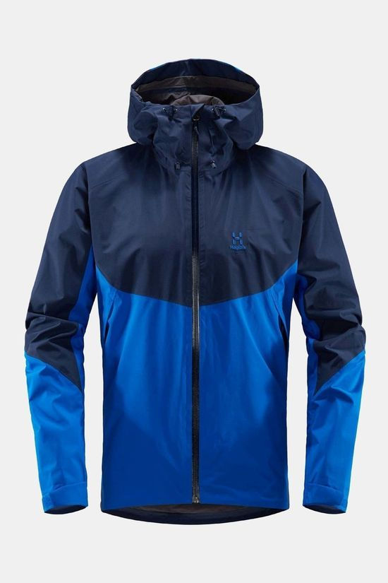 Haglofs Mens Virgo Jacket Storm Blue / Tarn Blue
