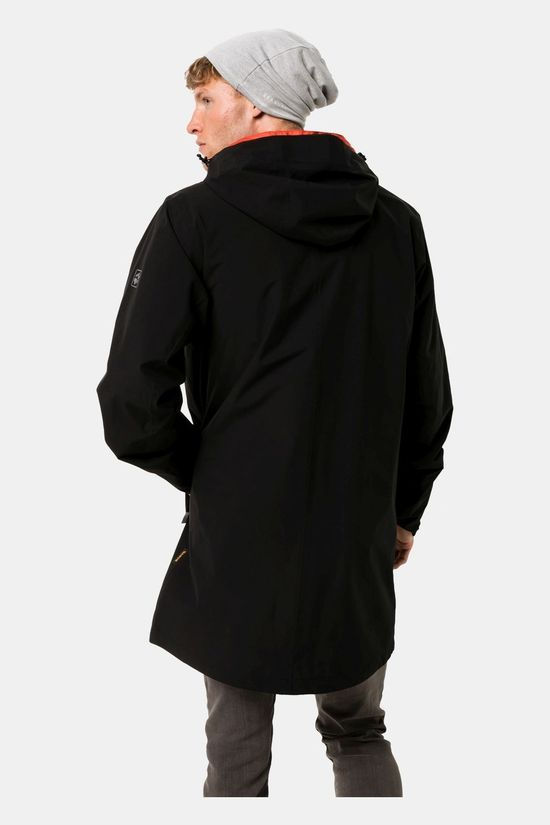 Jack Wolfskin JWP Packable Coat Black