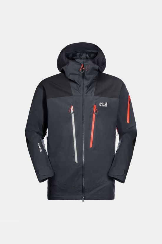 Jack Wolfskin Men's Solitude Mountain Jacket Ebony