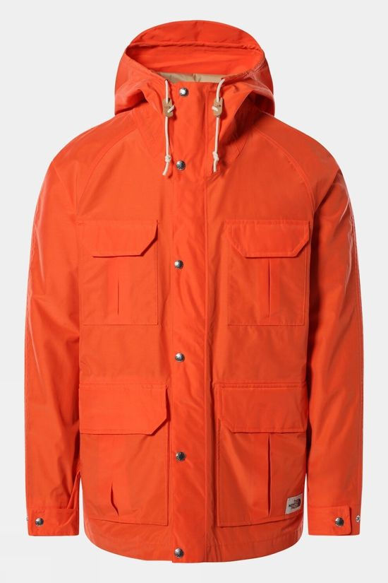 The North Face Mens Dryvent Mountain Parka Flame