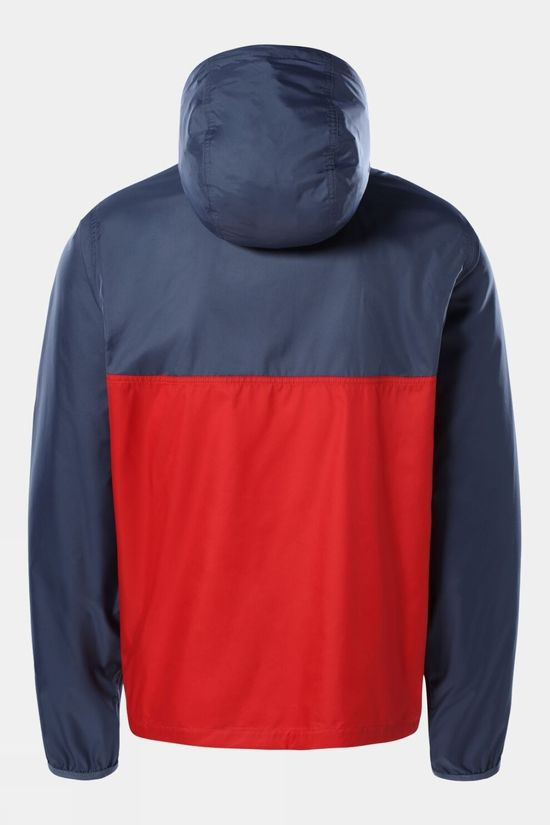The North Face Mens Cyclone Anorak Vintage Indigo/Rococco Red