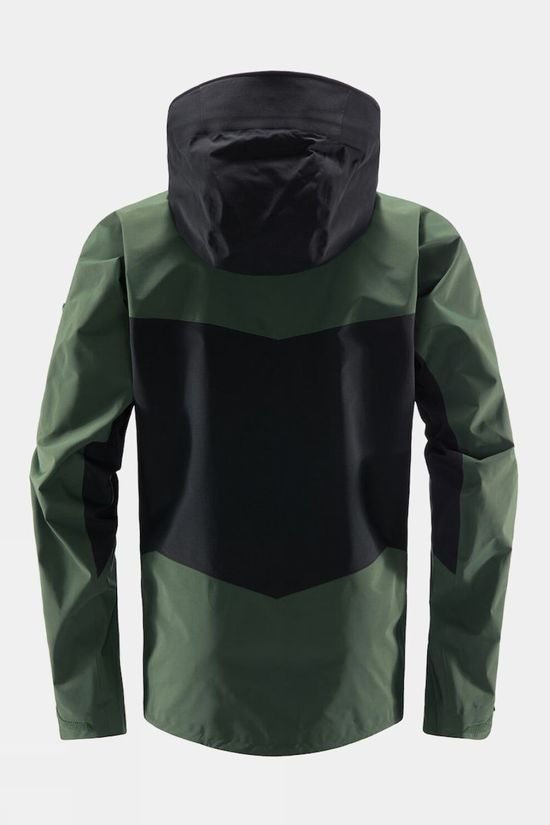 Haglofs Mens Spitz Jacket True Black/Fjell Green