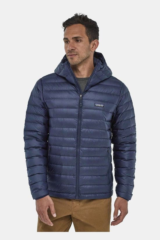 Patagonia Mens Down Sweater Hoody Classic Navy