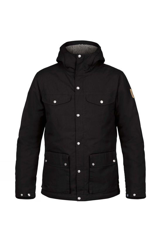 Fjallraven Mens Greenland WinterJacket Black