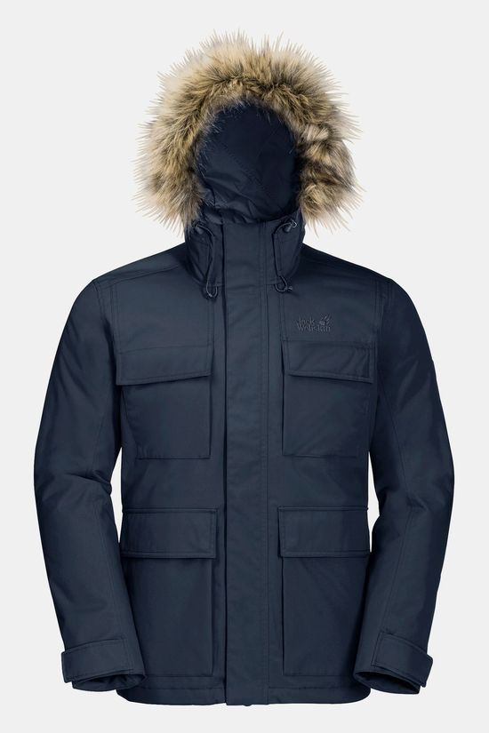 Jack Wolfskin Point Barrow Jacket Night Blue