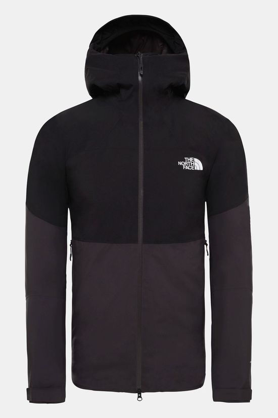 The North Face Mens Impendor Insulated Jacket Weathered Black/Tnf Black
