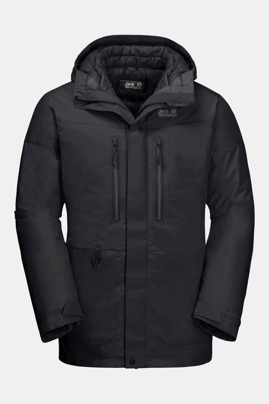Jack Wolfskin North Ice Parka Black