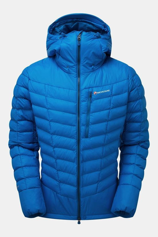 Montane Mens Ground Control Jacket Electric Blue