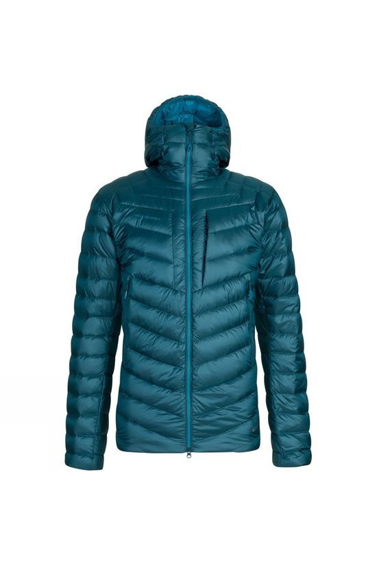 Mammut Broad Peak Insulated Hooded Jacket Wing Teal Sapphire