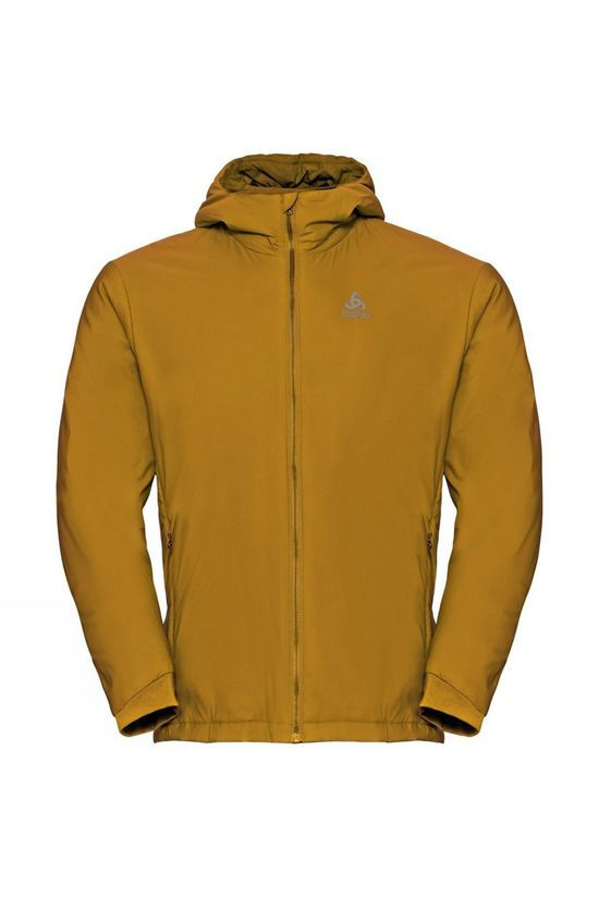 Odlo Mens Fli S-Thermic Insulated Jacket Golden Brown