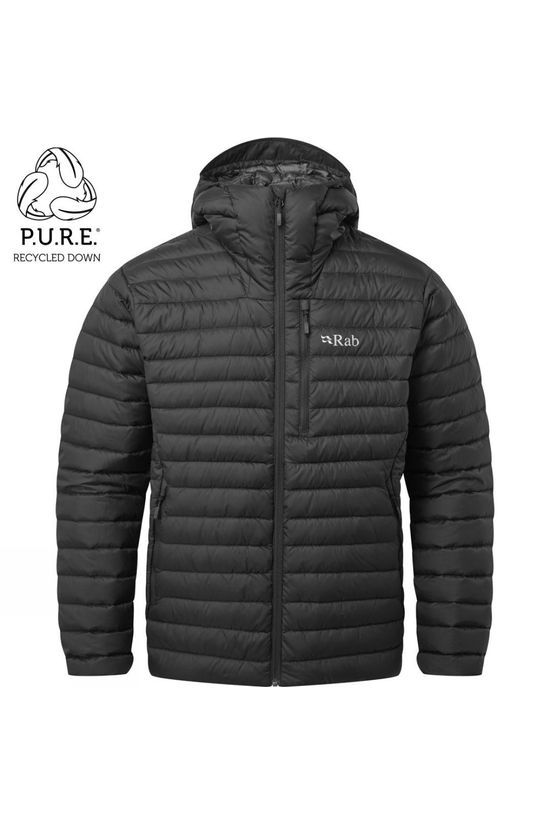 Rab Mens Microlight Alpine ECO Jacket Black