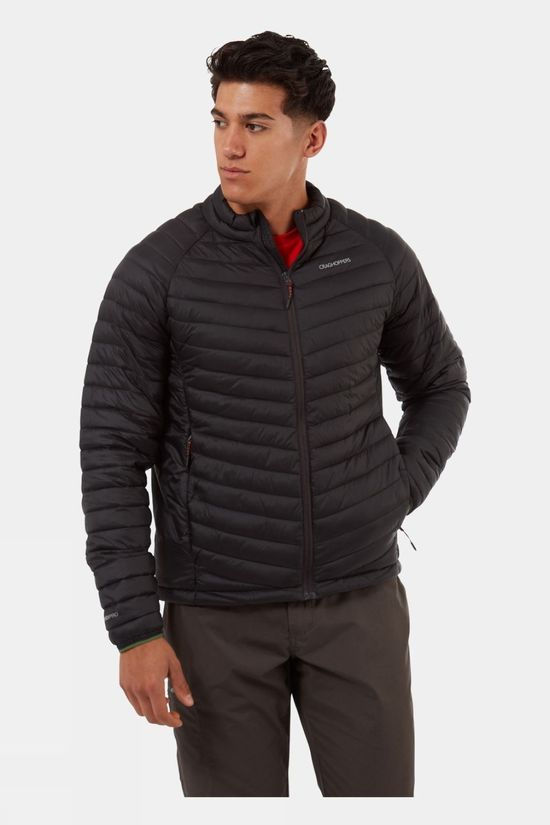 Craghoppers Mens Expolite Jacket Black Pepper /Dark Agave